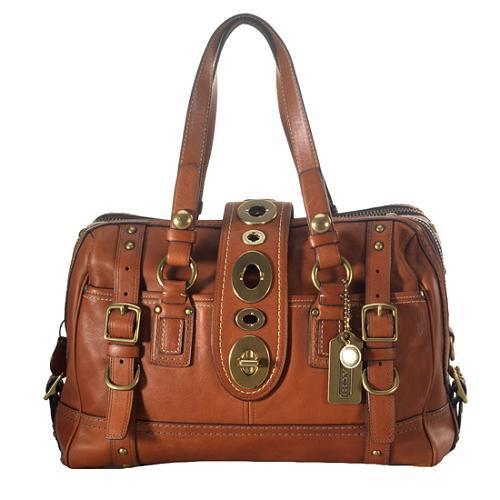 Coach Legacy Lily XL Satchel Handbag