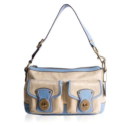 Coach Legacy Signature Shoulder Handbag