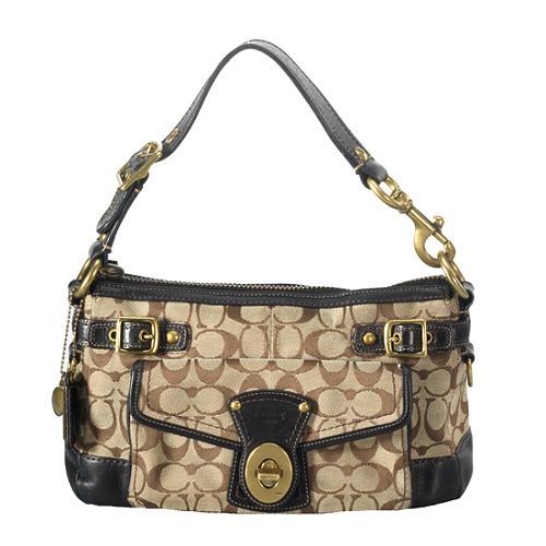 Coach Legacy Signature Spectator Shoulder Handbag