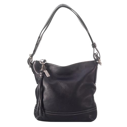 Coach Legacy Soft Slim Leather Duffel Handbag