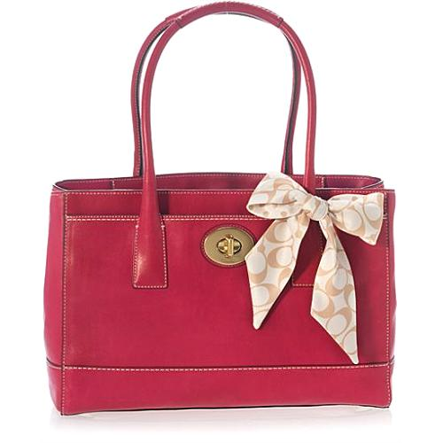 Coach Madeline Leather Tote - FINAL SALE