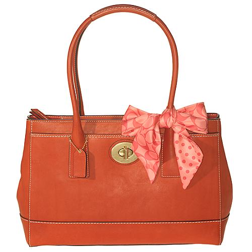 Coach Madeline Leather Tote
