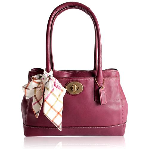 Coach Madeline Medium Leather Tote