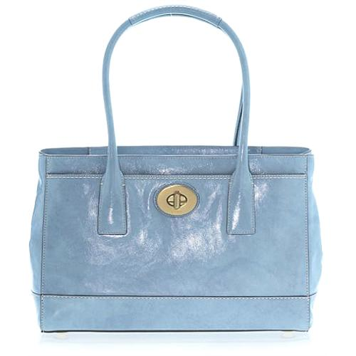 Coach Madeline Patent Tote - FINAL SALE
