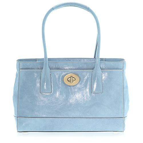 Coach Madeline Patent Tote