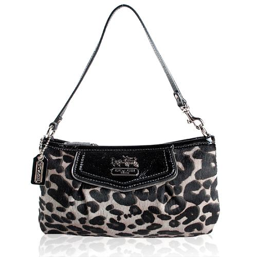 Coach Madison Haircalf Wristlet