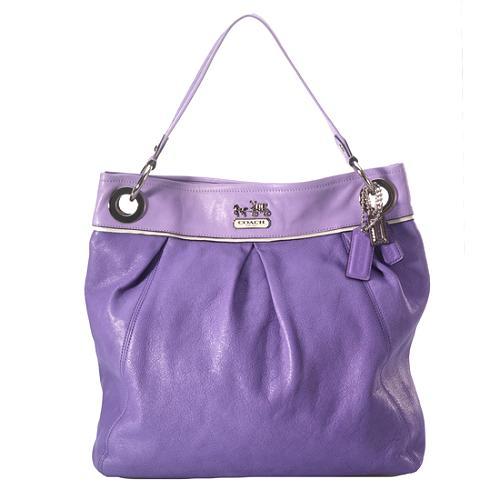 Coach Madison Large Leather Convertible Hippie Shoulder Handbag