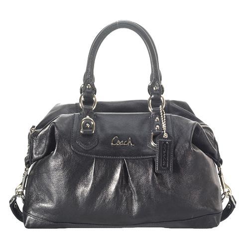 Coach Madison Leather Ashley Satchel Handbag