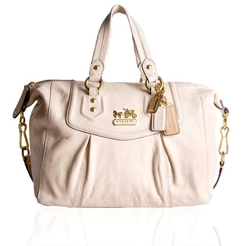 Coach Madison Leather Audrey Satchel Handbag
