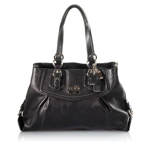 Coach Madison Leather Carryall Tote