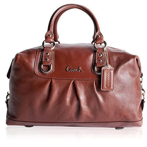 Coach Madison Leather Large Ashley Satchel Handbag