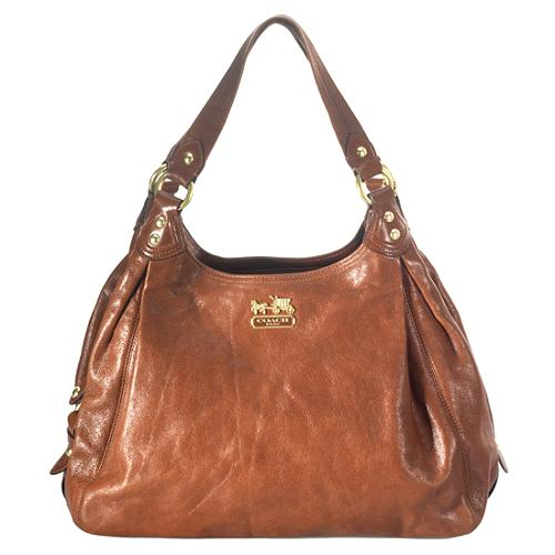 Coach Madison Leather Maggie Shoulder Handbag