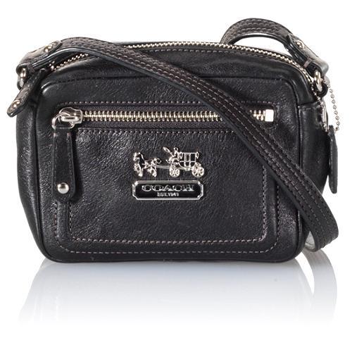 Coach Madison Leather Mini Crossbody Messenger Handbag