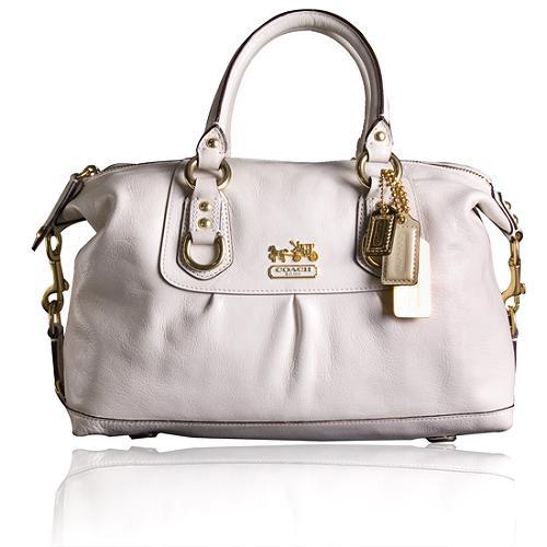 Coach Madison Leather Sabrina Satchel Handbag