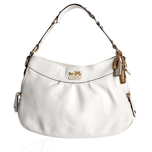 Coach Madison Leather Shoulder Handbag