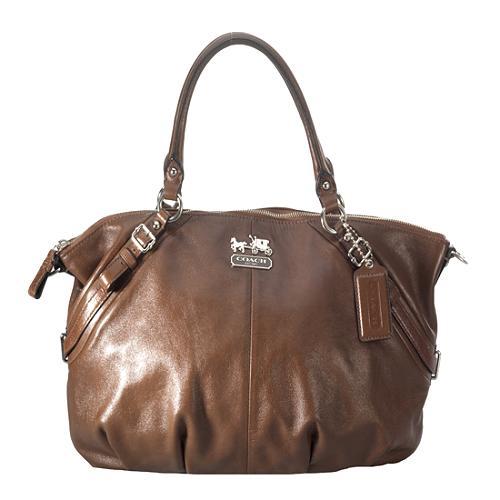 Coach Madison Leather Sophia Satchel Handbag