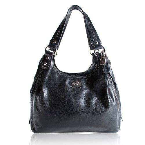 Coach Madison Maggie Leather Hobo Handbag