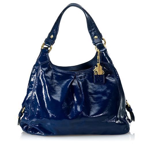 Coach Madison Patent Leather Maggie Shoulder Handbag