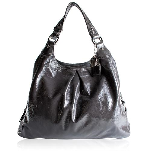 Coach Maggie Patent Leather Hobo handbag