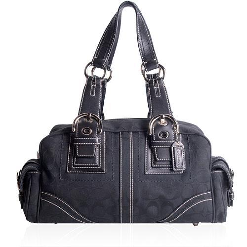 Coach Mia Signature Satchel Handbag