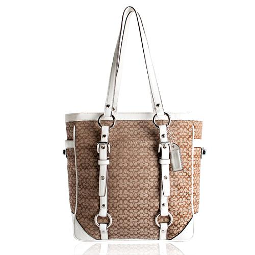 Coach Mini Signature Gallery Lunch Tote