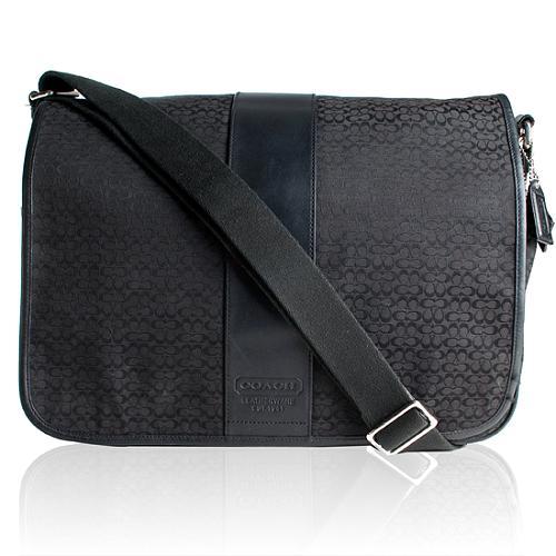 Coach Mini Signature Transatlantic Messenger Handbag