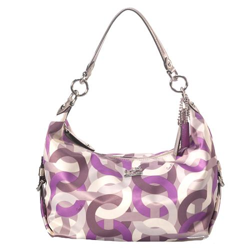 Coach Op Art Hailey Crossbody Handbag