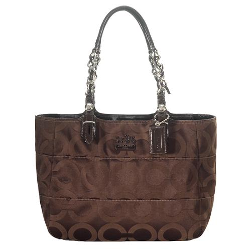 Coach Op Art Tribeca Shopper Tote