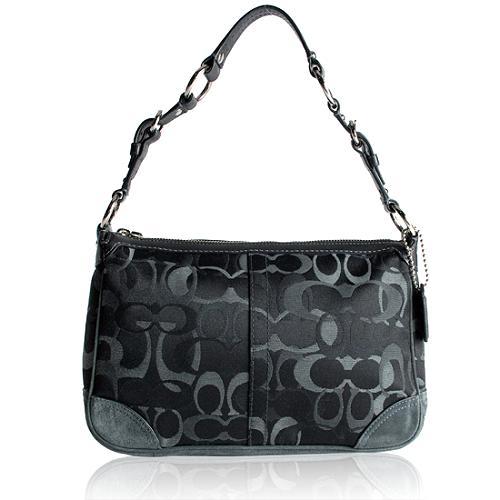 Coach Optic Signature Demi Shoulder Handbag
