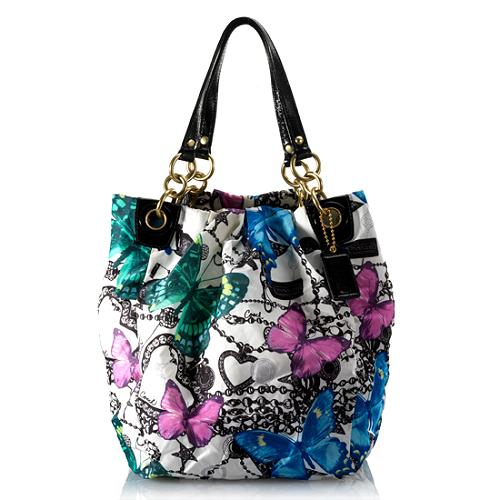 Coach Parker Butterfly Tote
