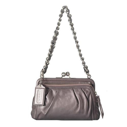 Coach Parker Kisslock Shoulder Handbag