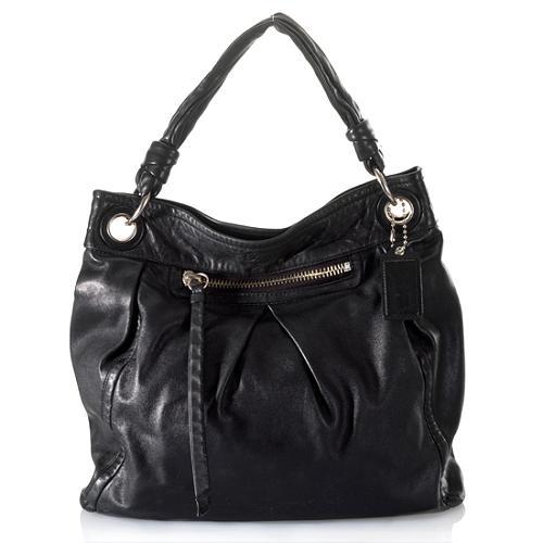 Coach Parker Leather Large Convertible Hippie Handbag