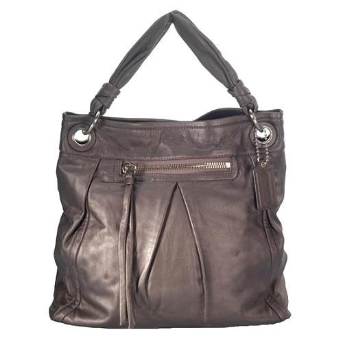 Coach Parker Leather Large Convertible Hippie Hobo Handbag