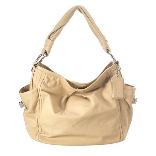 Coach Parker Leather Shoulder Handbag