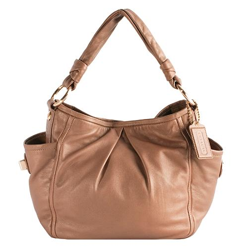 Coach Parker Leather Shoulder Handbag