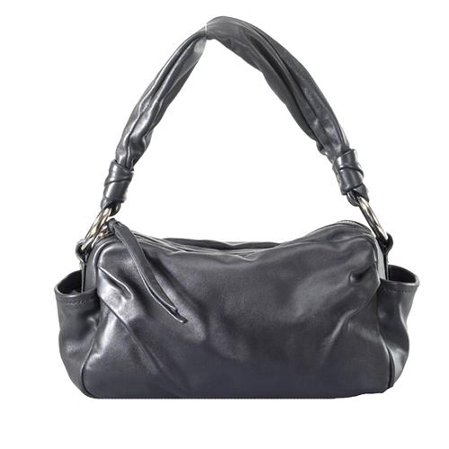 Coach Parker Leather Zip Shoulder Handbag