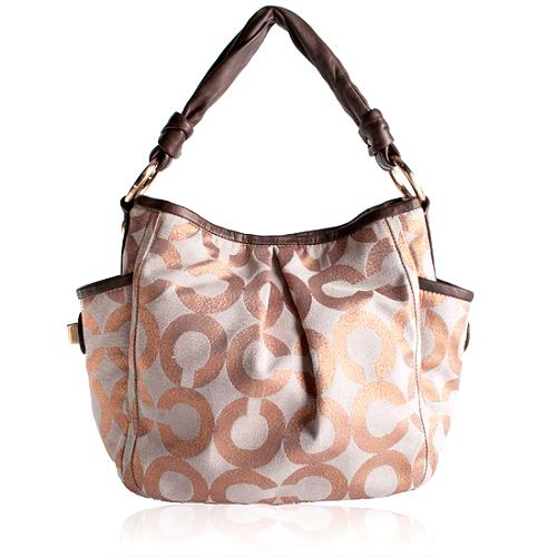 Coach Parker Op Art Shoulder Handbag