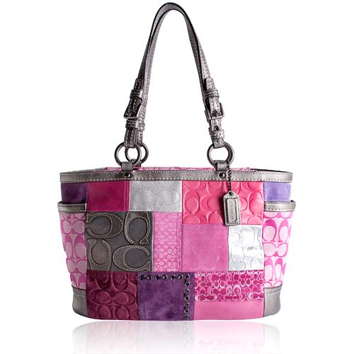 Coach Patchwork Gallery Tote