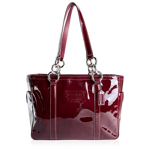 Coach Patent Leather Gallery Tote