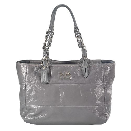 Coach Patent Leather Tribeca East/West Tote