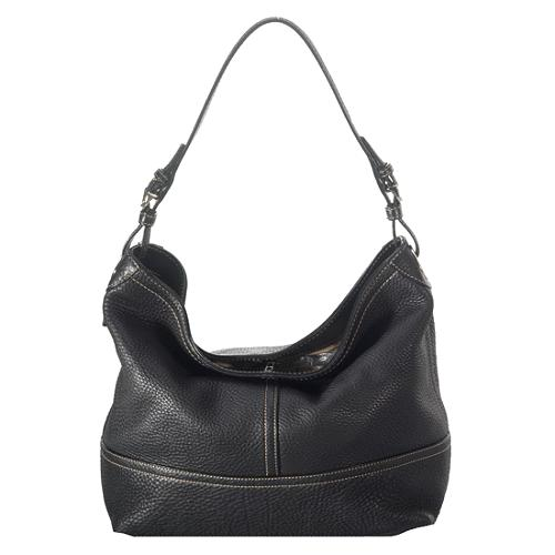 Coach Pebbled Leather Shoulder Tote