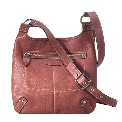 coach penelope leather hippie crossbody shoulder handbag rh bagborroworsteal com