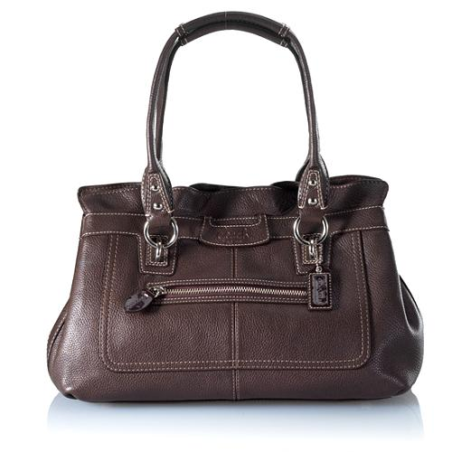 Coach Penelope Leather Satchel Handbag