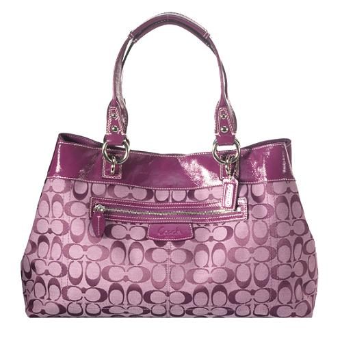 Coach Penelope Signature Shopper Tote