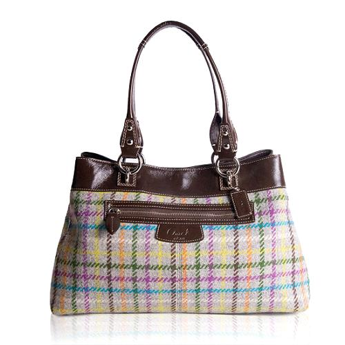 Coach Penelope Tattersall Shopper Tote