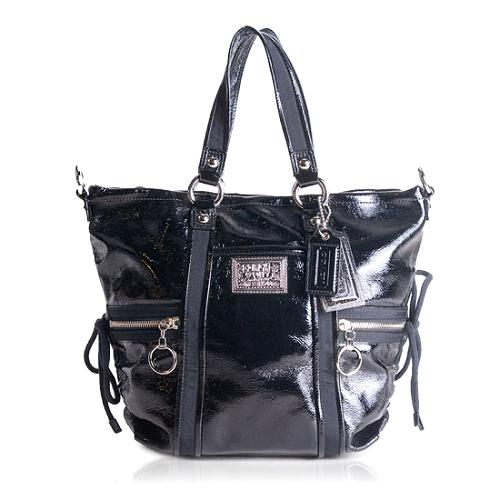 Coach Poppy Patent Spotlight Tote