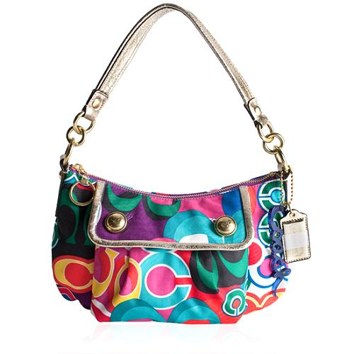 Coach Poppy Pop C Groovy Shoulder Handbag