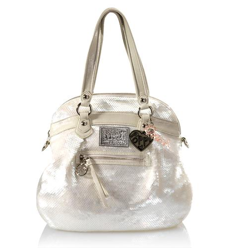 Coach Poppy Sequins Highlight Tote
