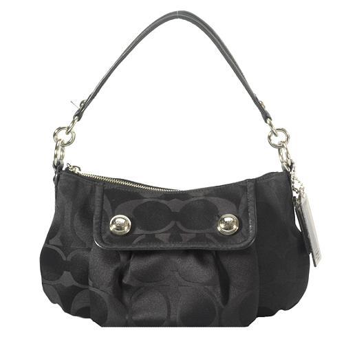 Coach Poppy Signature Groovy Crossbody Shoulder Handbag