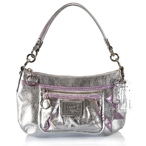 Coach Poppy Star Leather Groovy Crossbody Handbag
